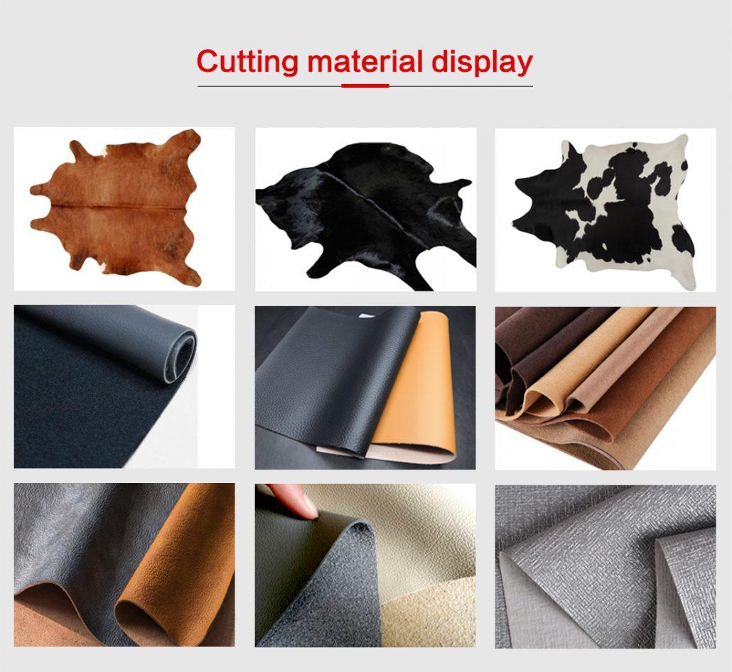 leather cutting machine