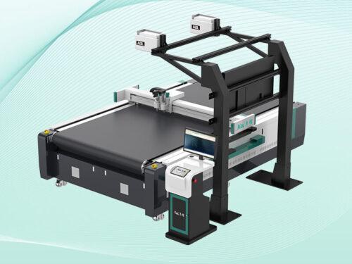fully automatic fabric cutting machine