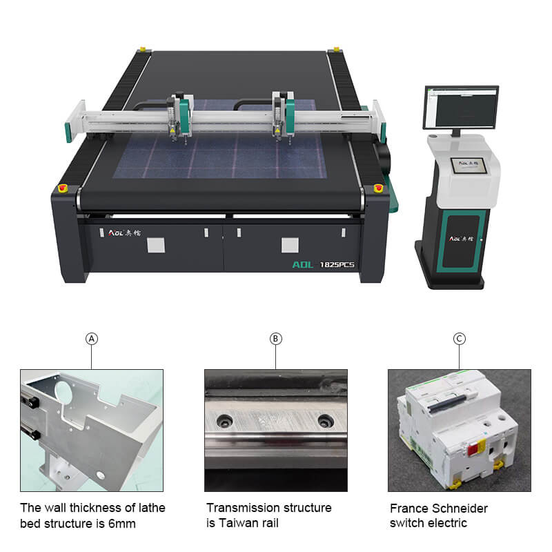 CNC cutter for fabric