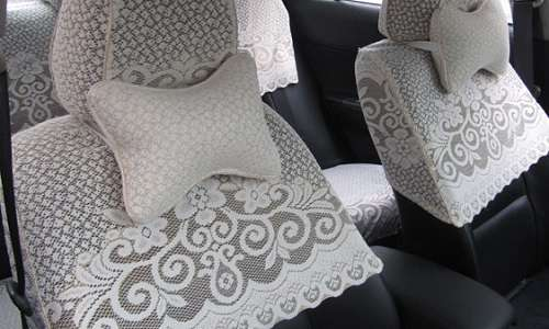 Lace Seat Cover Cutting Machine