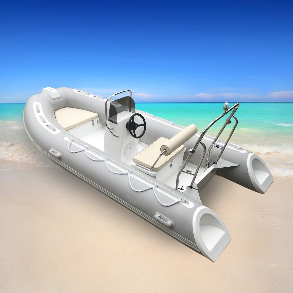 Inflatable boat cutter