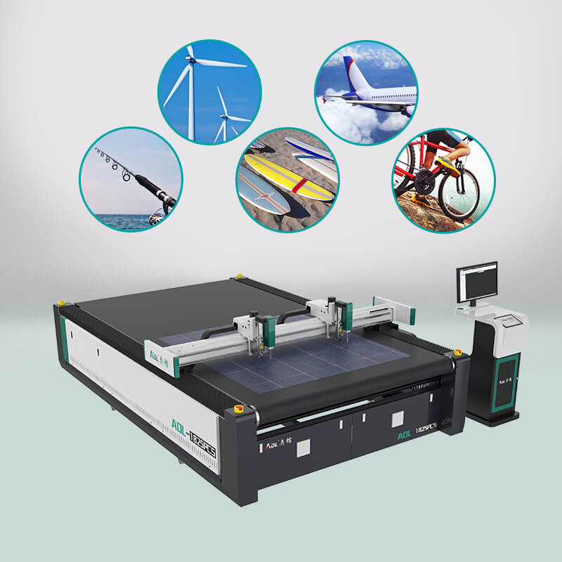 a composite material cutting machine