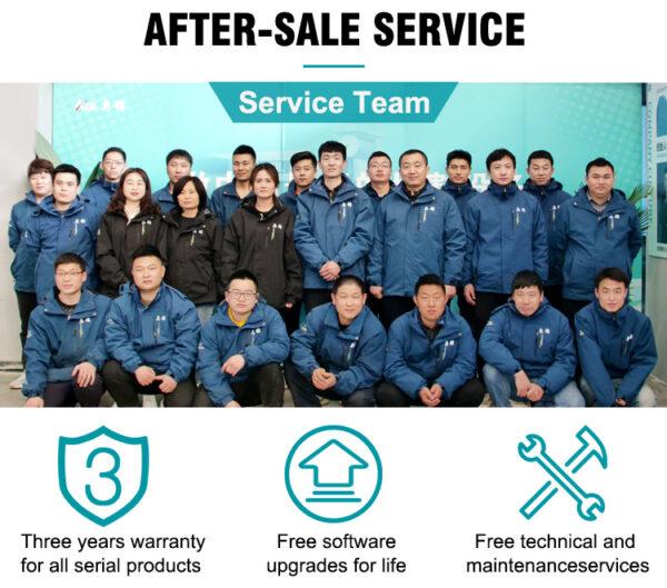 AOL CNC After sales team